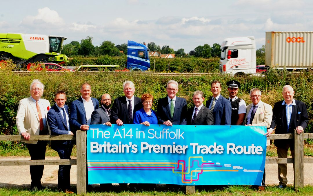 PCE JOIN BUSINESSES CALLING FOR 'TRANSFORMATIONAL' £150M IMPROVEMENTS TO A14 – THE UK'S PREMIER TRADE ROUTE