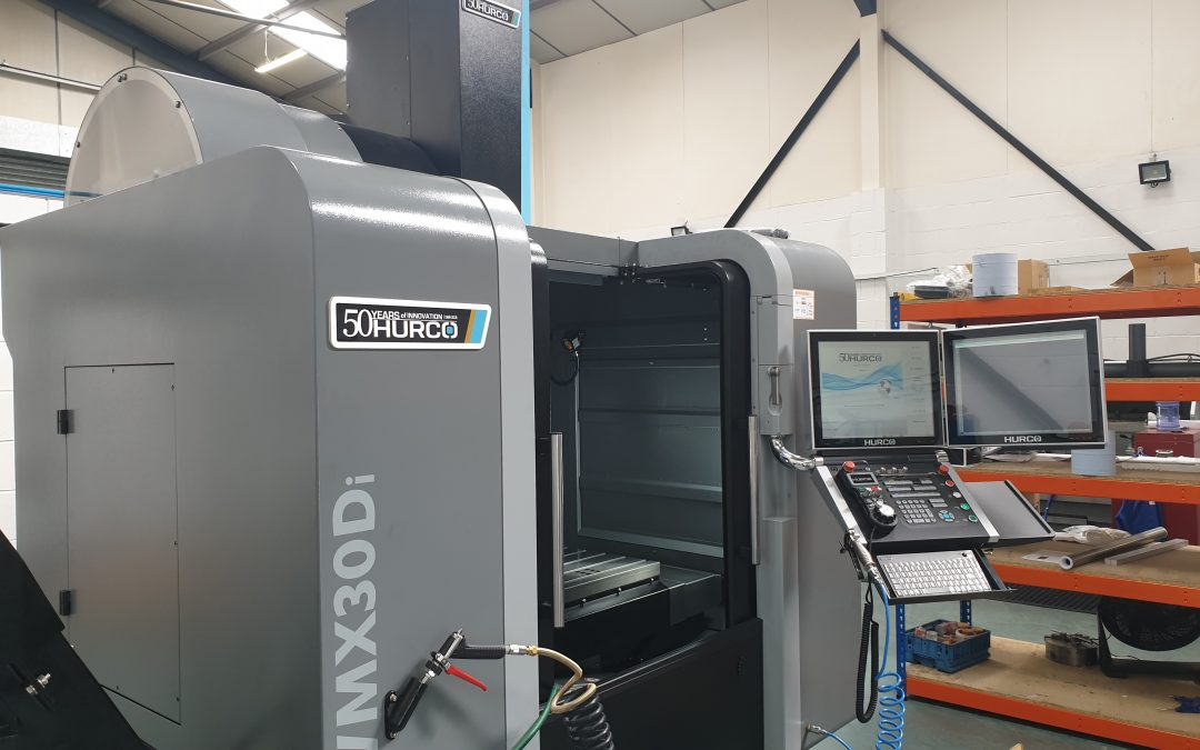 INVESTMENT CONTINUES IN NEW MACHINING CENTRE.