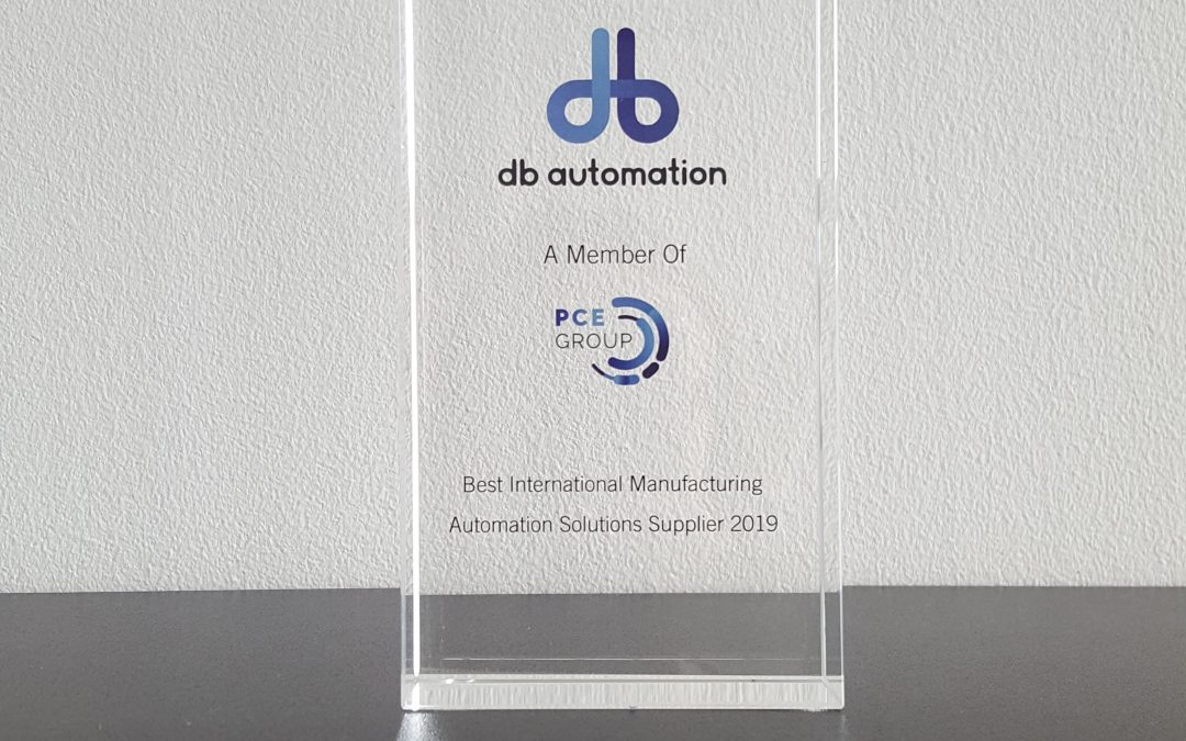 db automation scoop Export Award